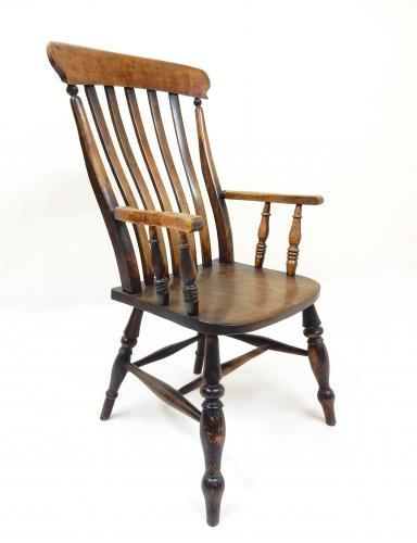 Windsor Lathback Armchair