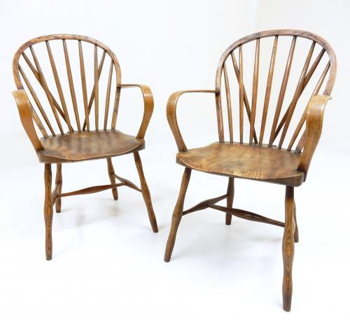 Windsor Armchairs from Yealmpton, Devon