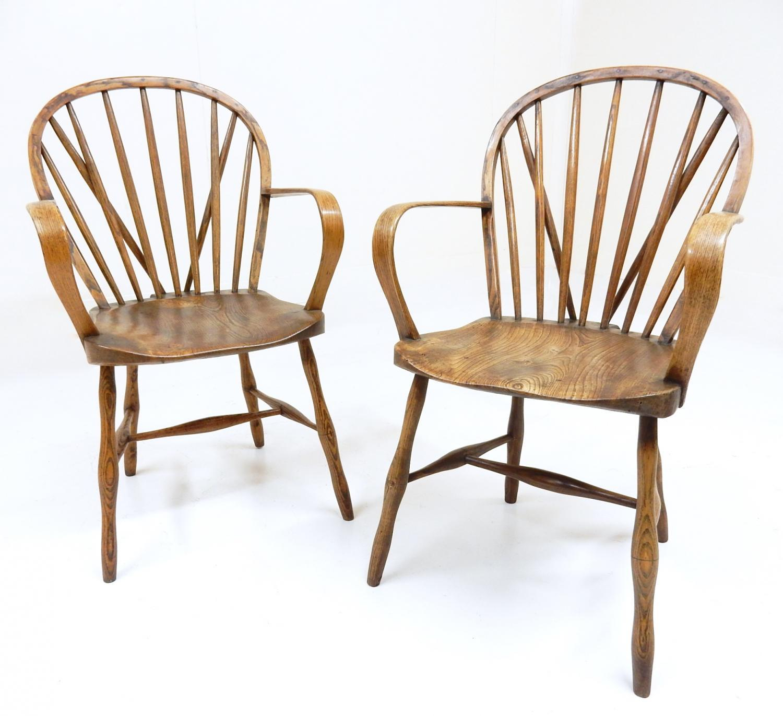 Windsor Armchairs from Yealmpton, Devon