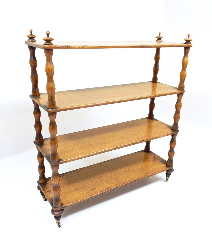 C19th Oak Shelves/Bookcase