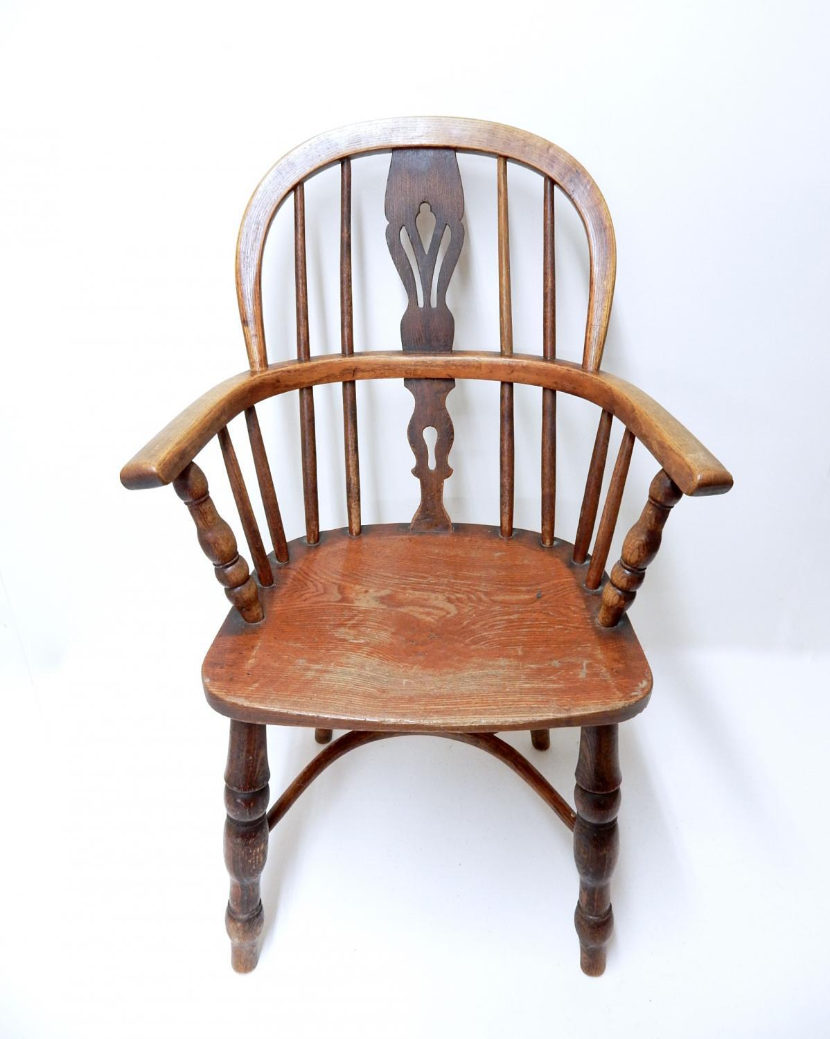 Child's Antique Windsor Armchair