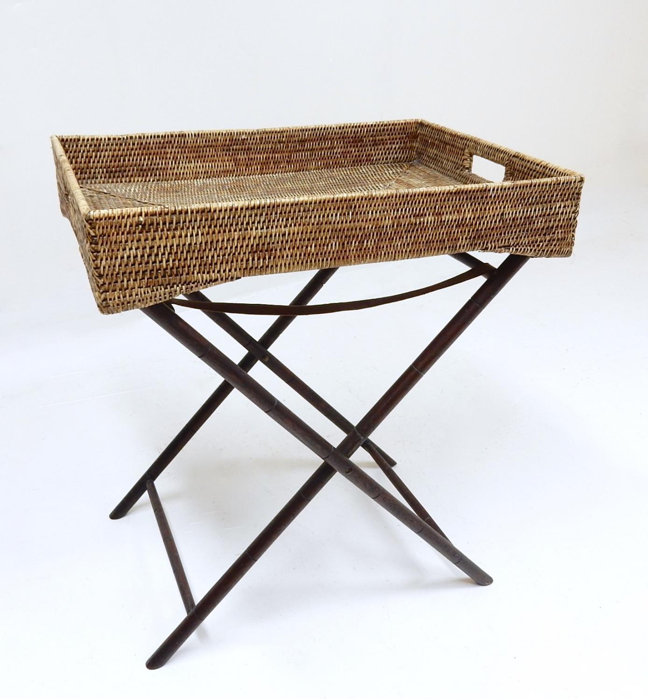 Antique Butler's Tray