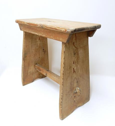 Pine Bench Stool