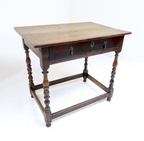 Antique Oak Side Table