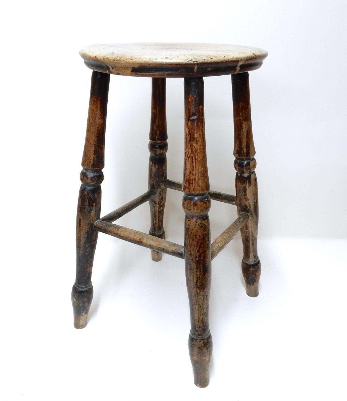 Antique Windsor Stool