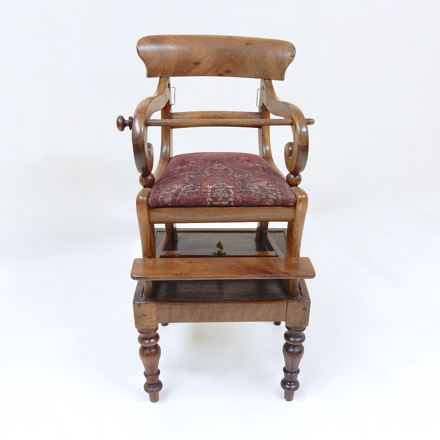 Antique Metamorphic Child's Chair