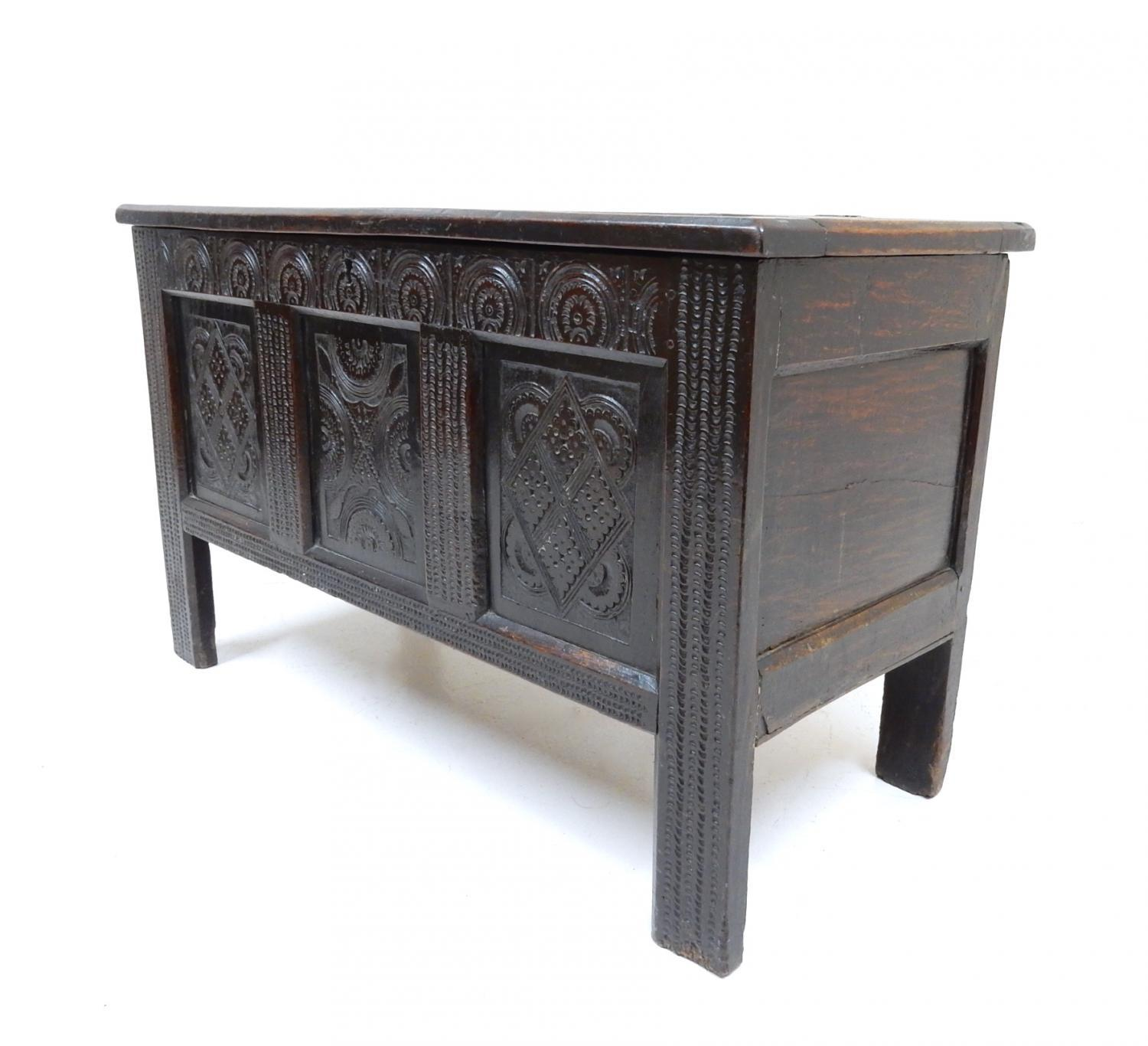 Period Oak Coffer