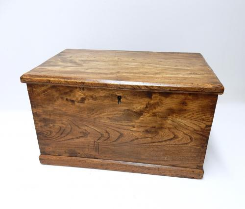 Antique Elm Chest