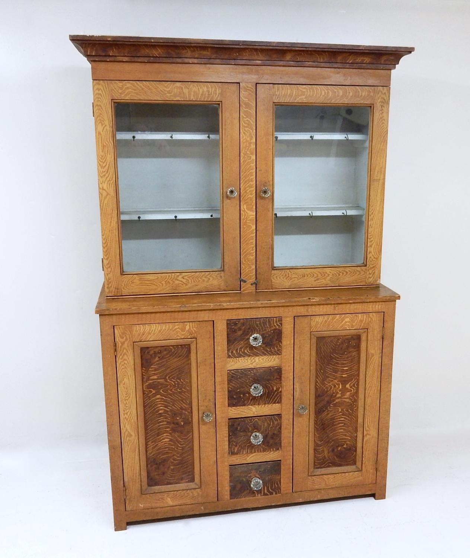 Antique Painted Pine Dresser