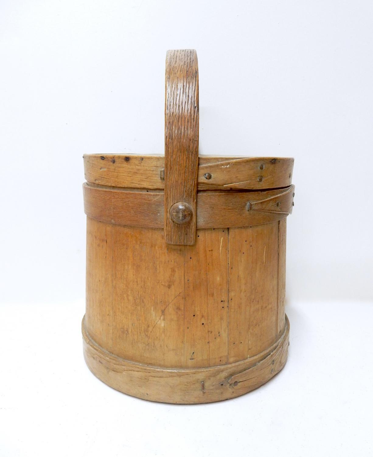 Antique Sugar Bucket