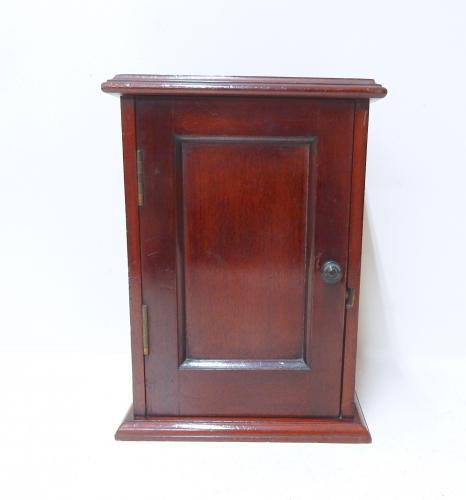 Miniature Antique Mahogany Cupboard
