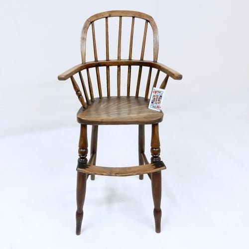 Antique Windsor Child's Highchair