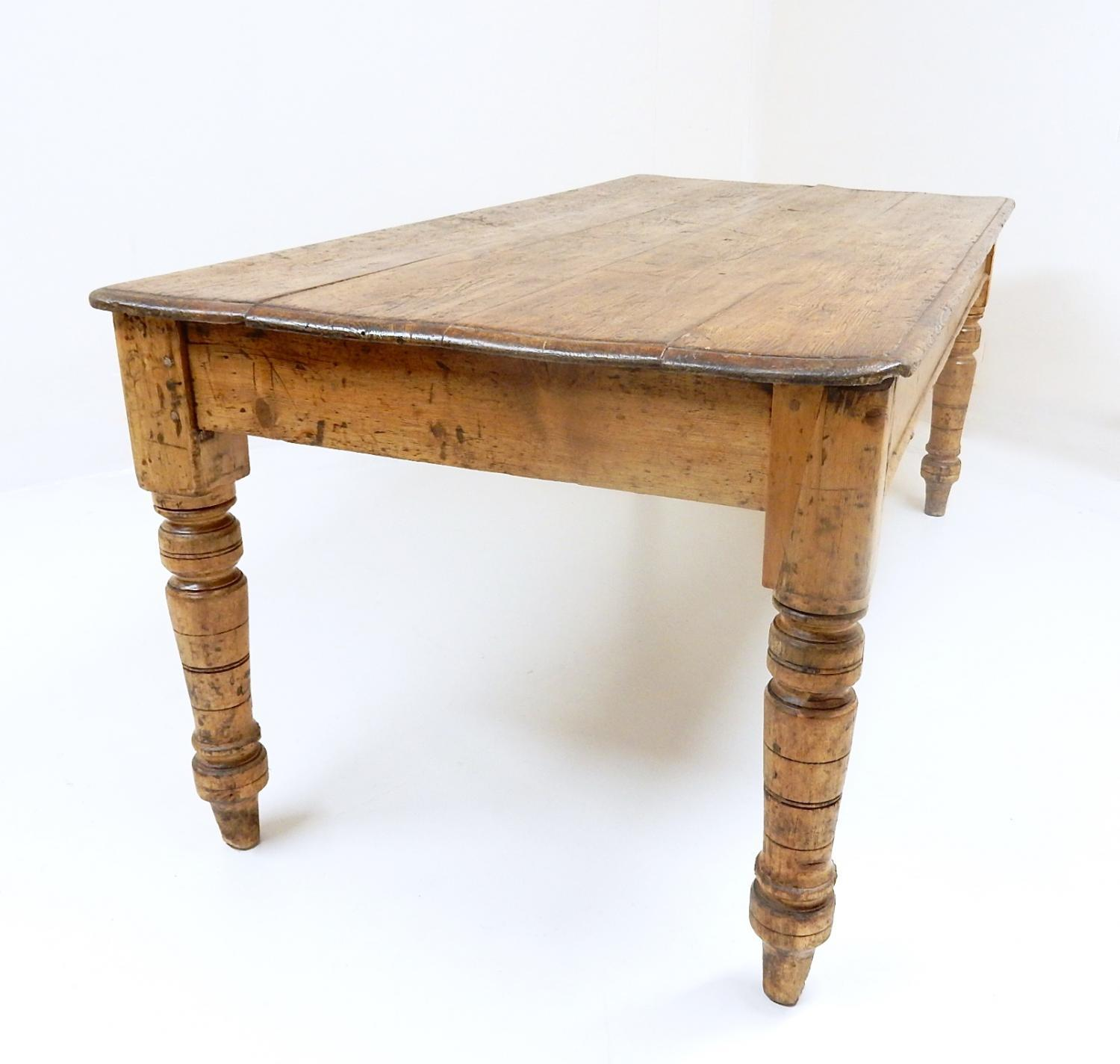 Antique Farmhouse Kitchen Table In Sold