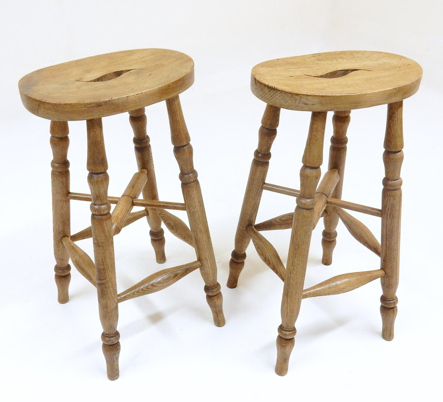 Antique bar stools in seating