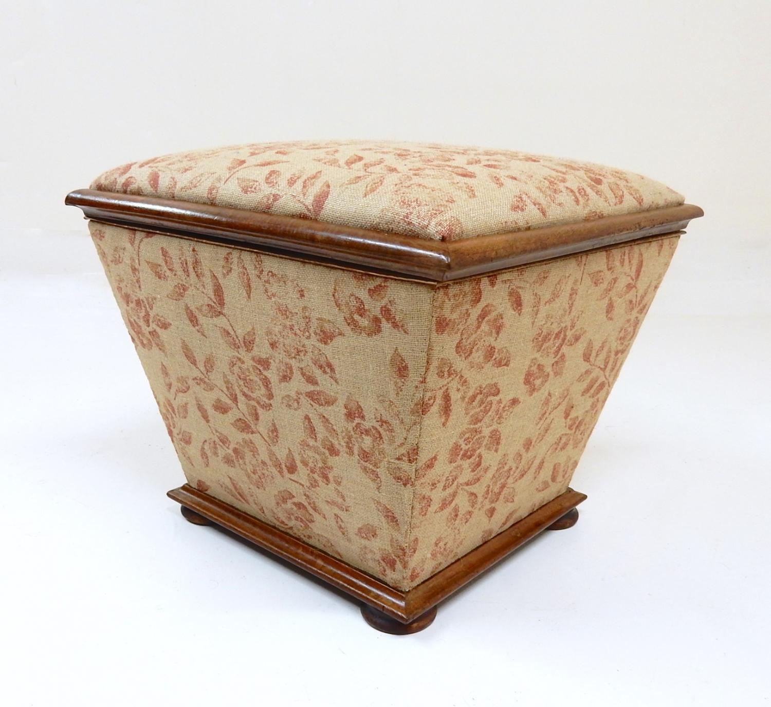 Antique Upholstered Ottoman