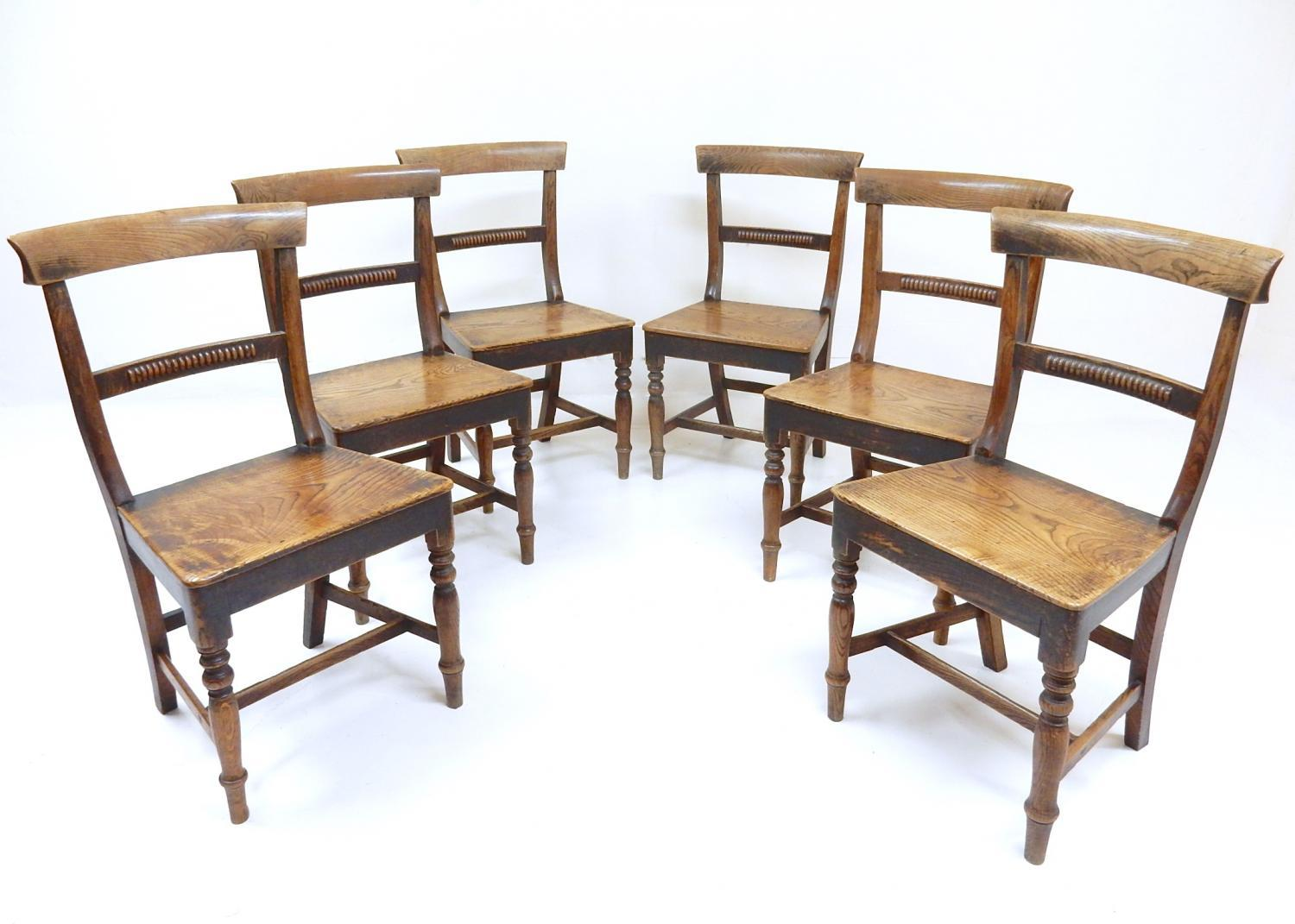 Antique Country Dining Chairs