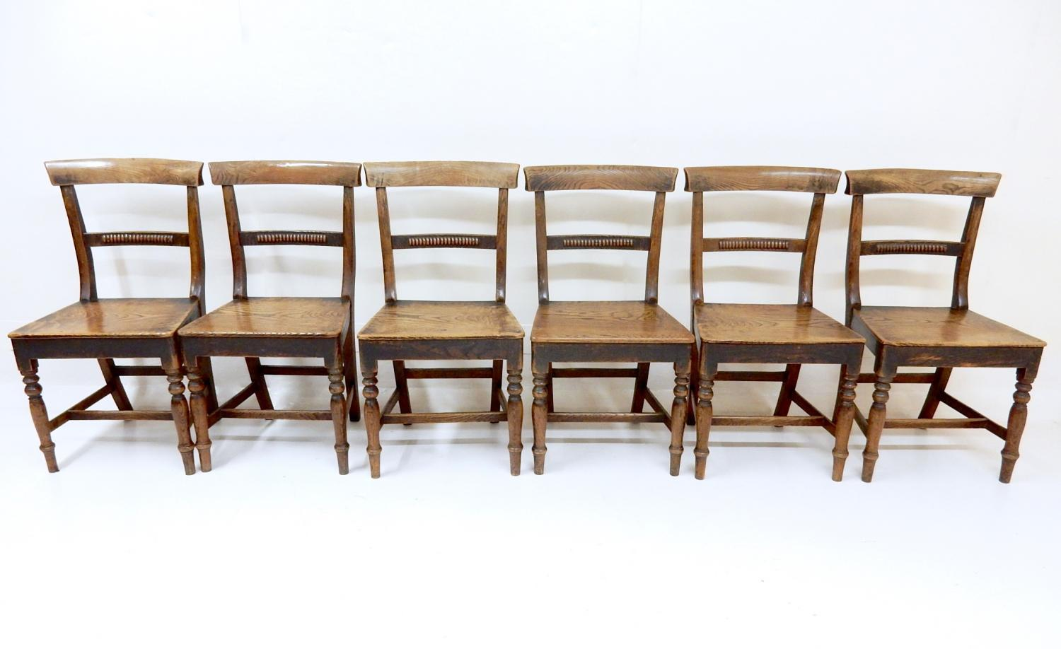 Antique Country Dining Chairs in Tables and Chairs
