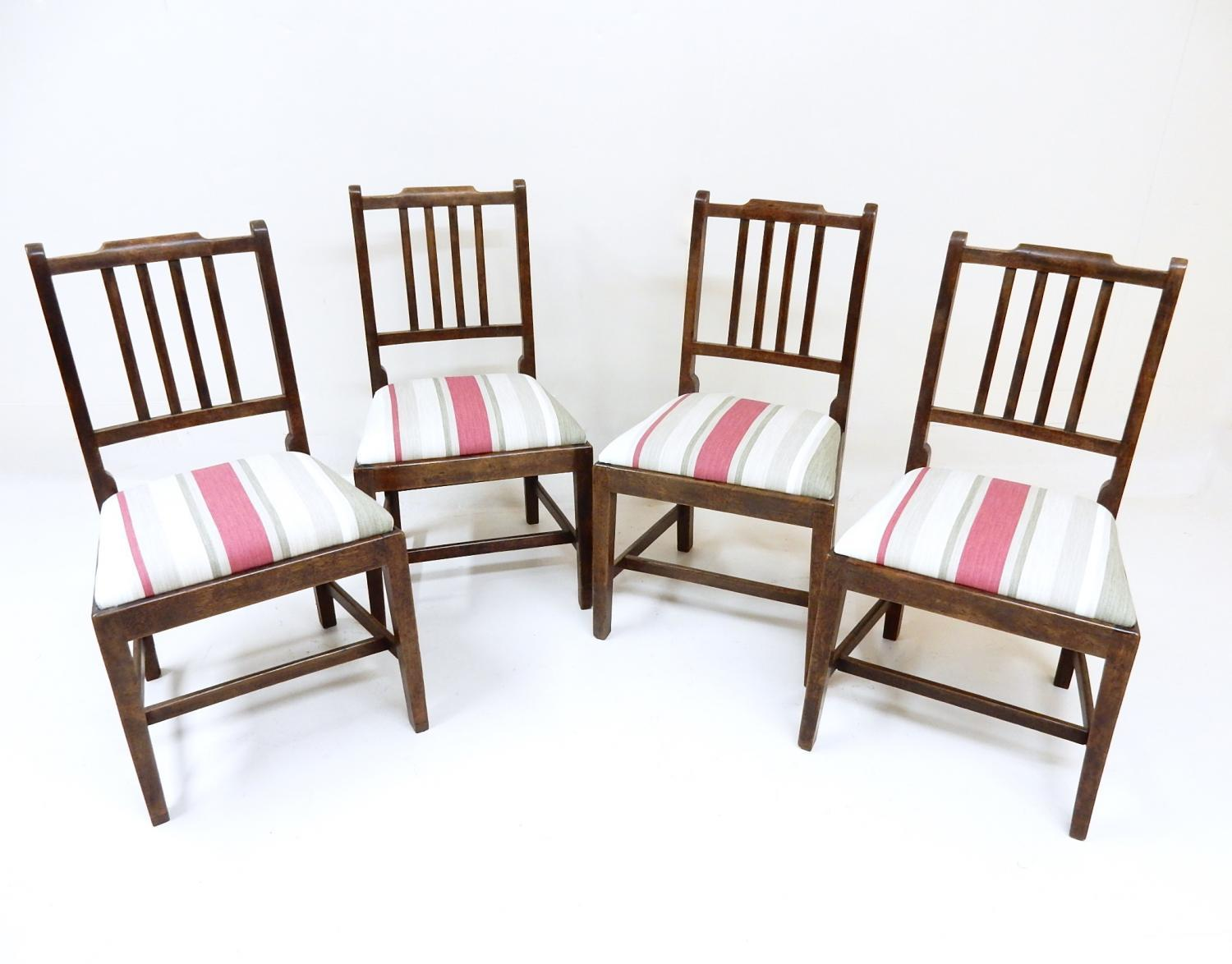 Antique Upholstered Dining Chairs