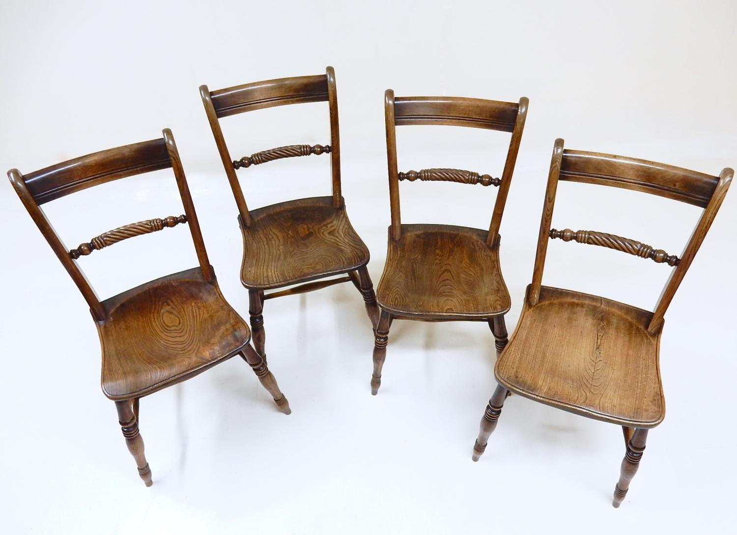 Antique Windsor Dining Chairs