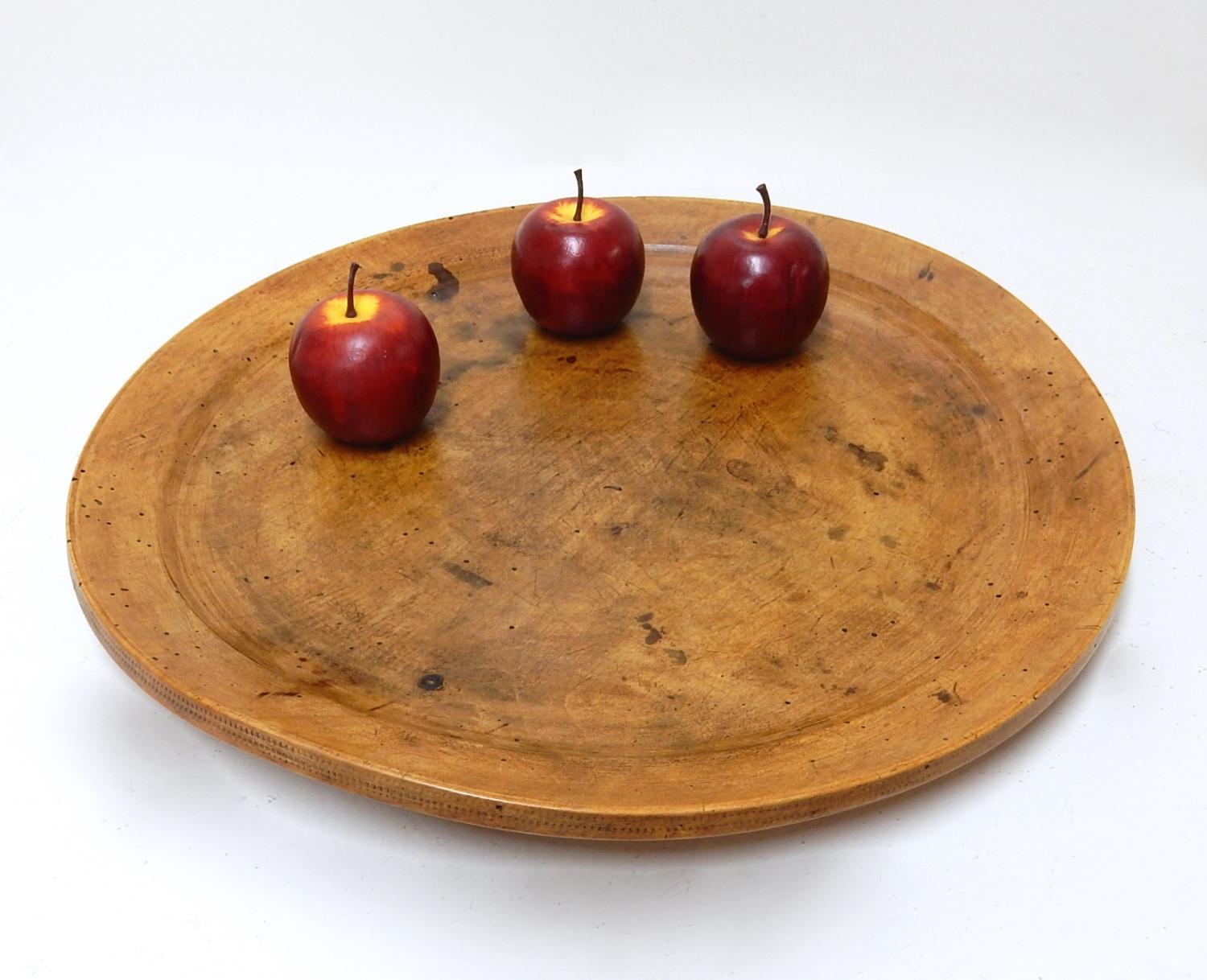 Wooden Antique Platter