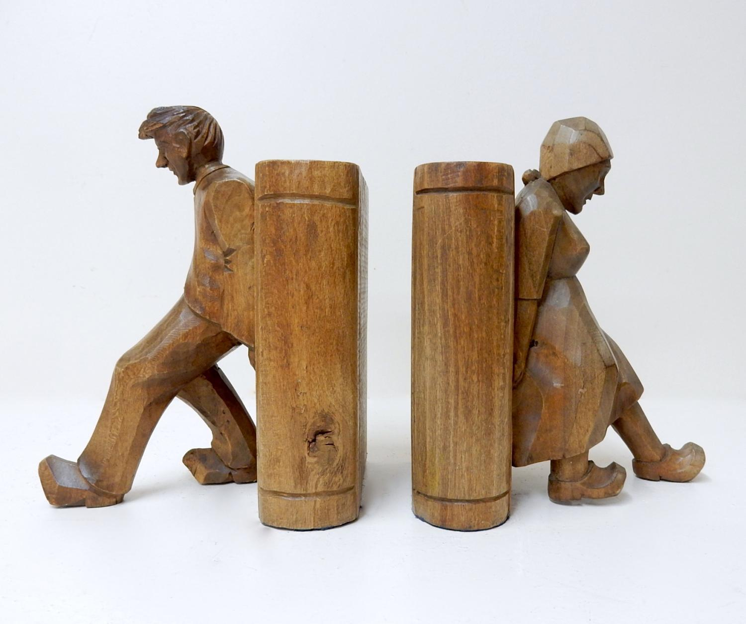 Treen Bookends