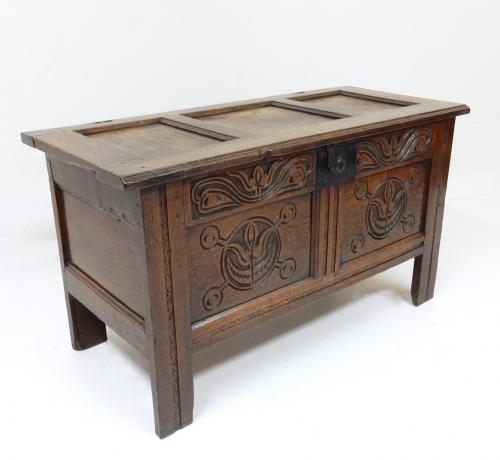 Small Period Oak Coffer