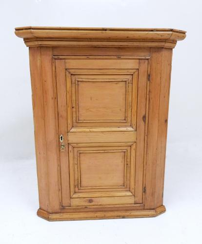 Pine Corner Cupboard