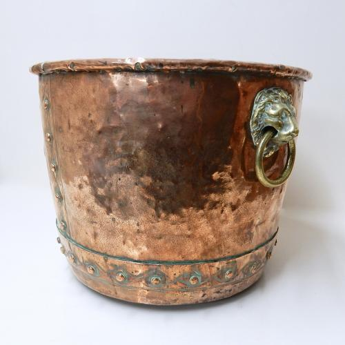 Copper Log Bin