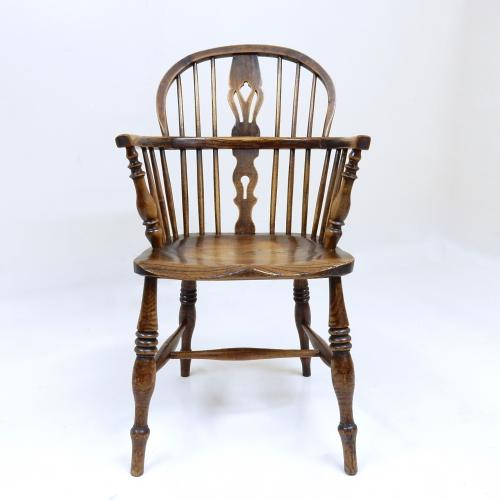 C19th Antique Windsor Armchair
