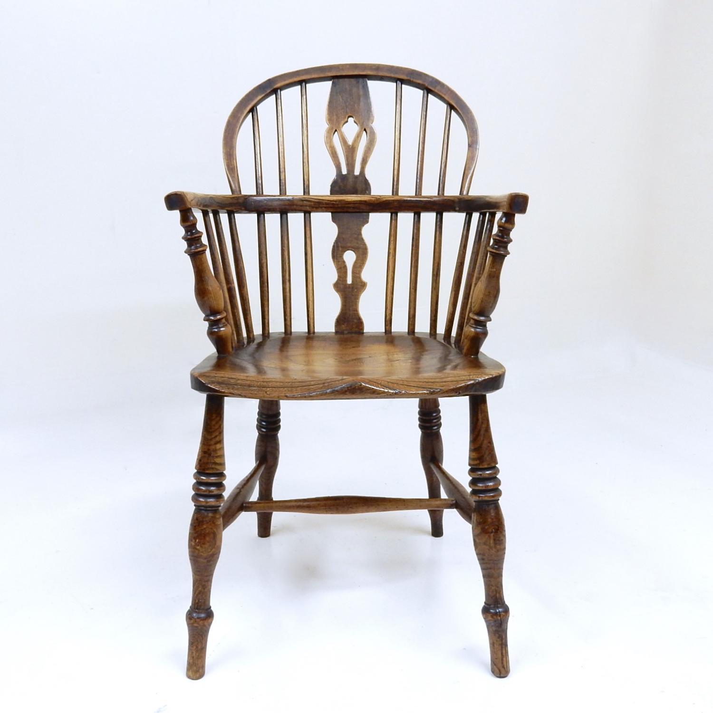 C19th Antique Windsor Armchair
