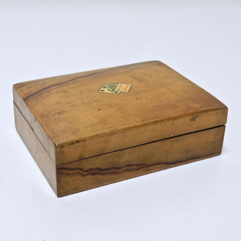 Treen Card Box