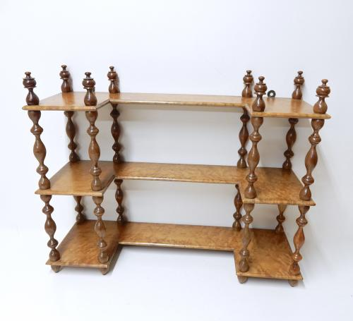 Antique Display Shelves