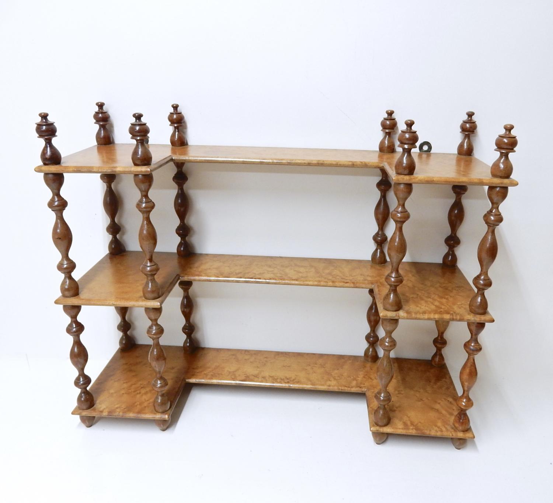 Antique Display Shelves