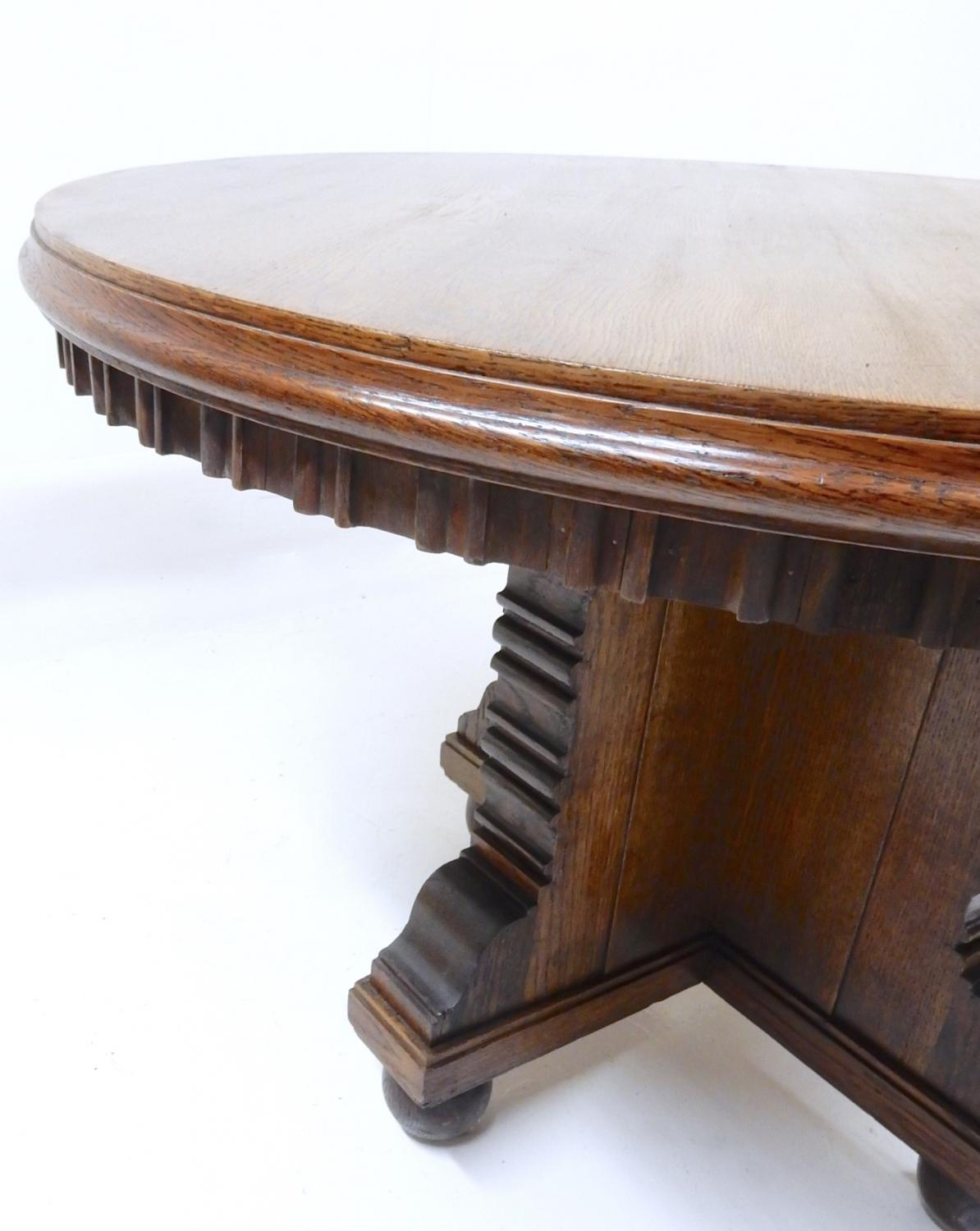 100 Edwardian Coffee Table Antique Oval Side  : edwardian oak table10339pic4size3 from 45.32.79.15 size 1194 x 1500 jpeg 114kB