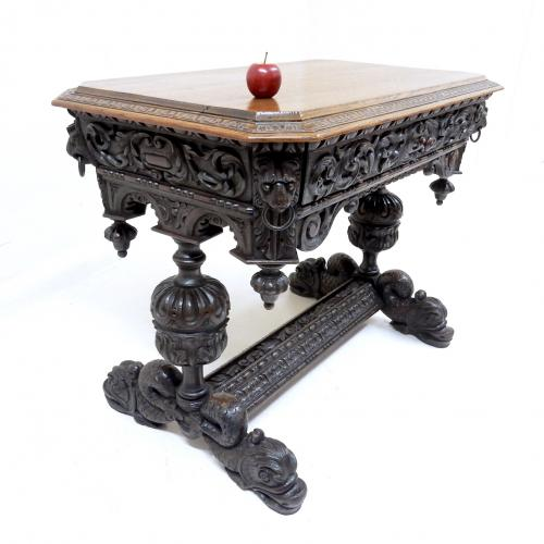 Antique Oak Centre Table