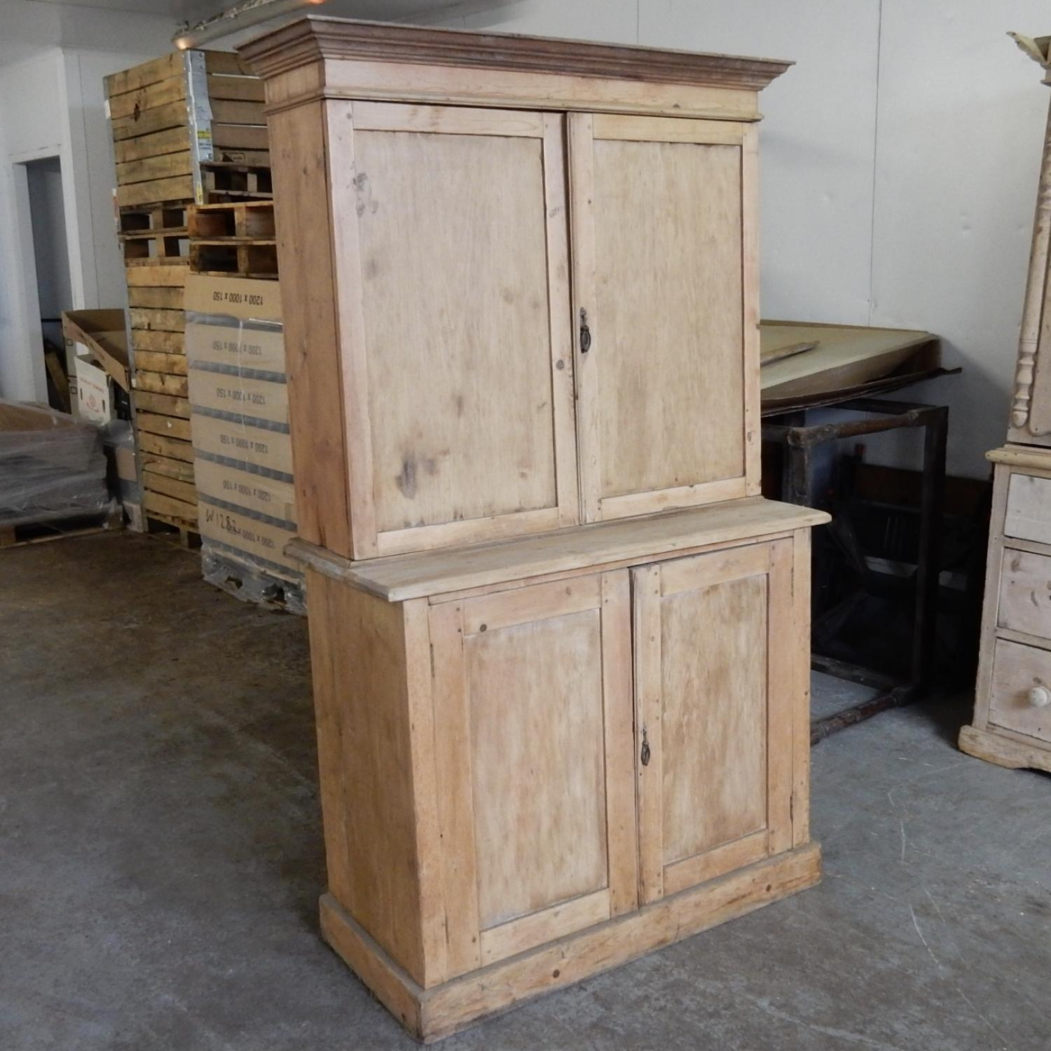 Antique Pine Cupboard (paint project)
