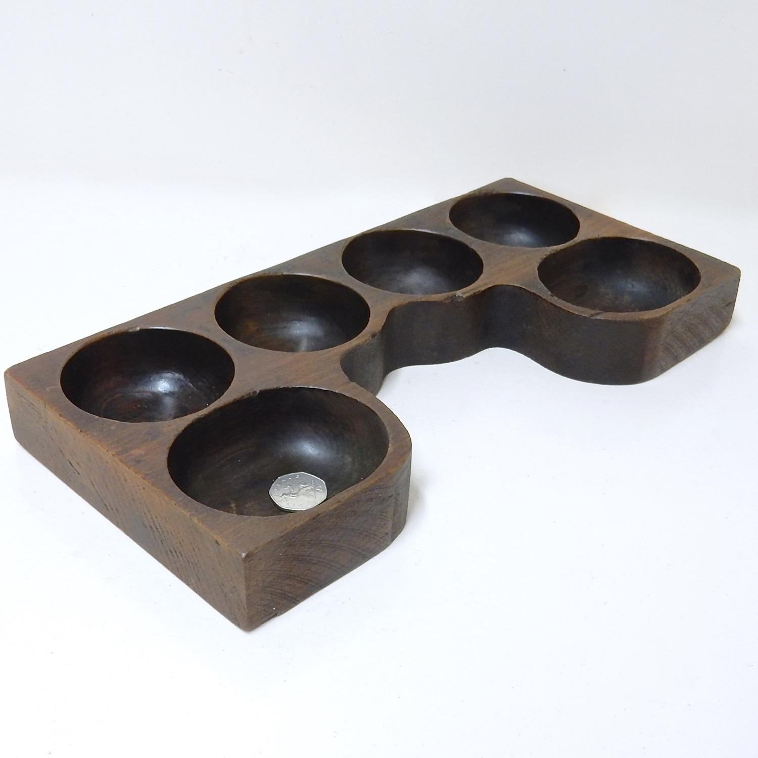 Wooden Coin Tray