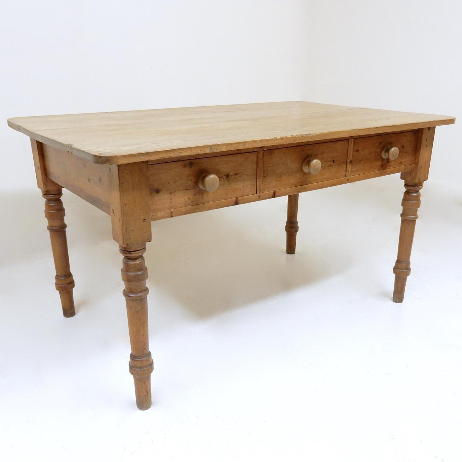 Pine Kitchen Table in Tables and Chairs