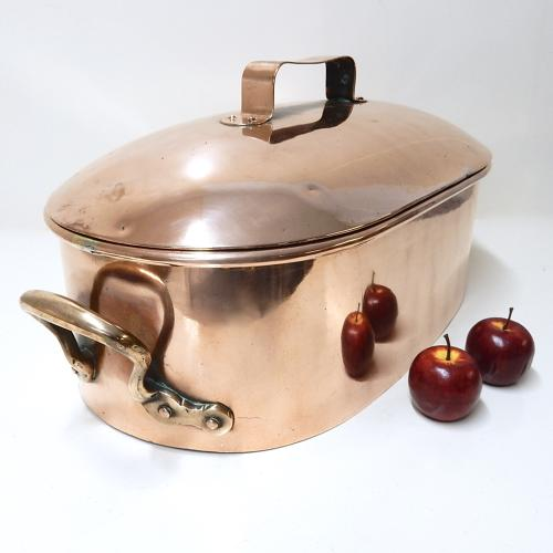 Large Copper Casserole