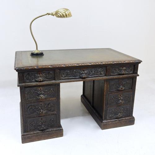 Small Oak Desk