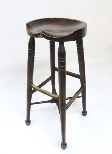 Tall C19th Barstool
