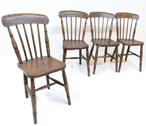 Antique Kitchen Chairs
