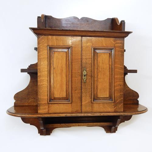 Antique Smoking Cabinet