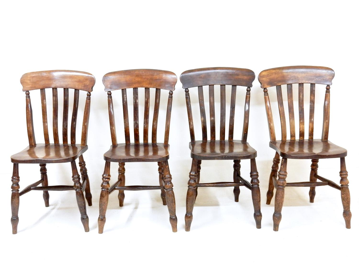 Antique Oak Kitchen Chairs