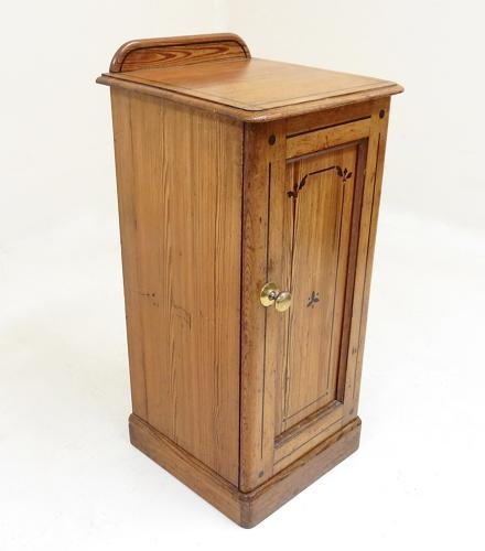 Victorian Bedside Pot Cupboard