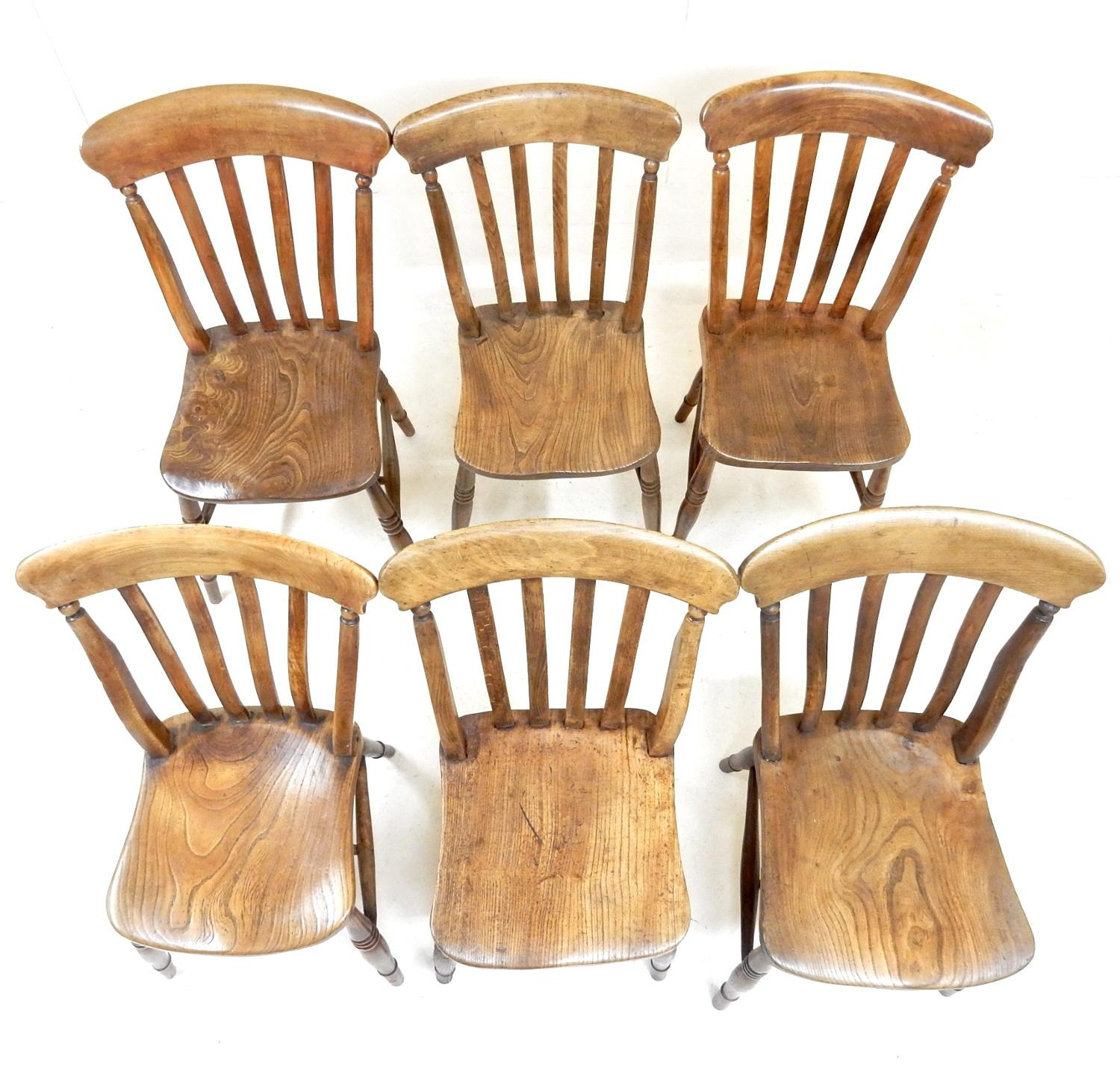Windsor Kitchen Chairs: C19th Windsor Kitchen Chairs In Tables And Chairs