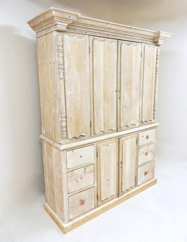 Antique Pine Housekeeper's Cupboard