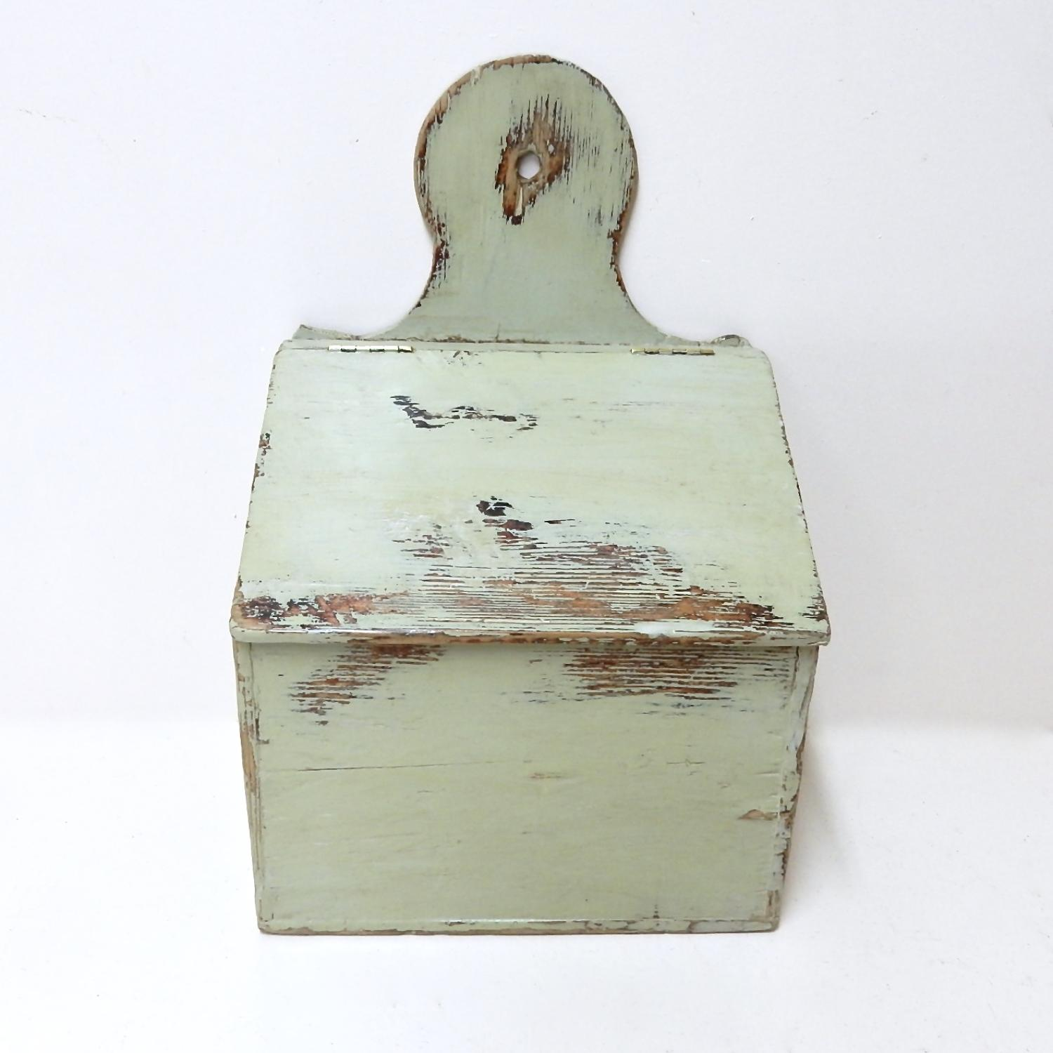 Painted Salt Box