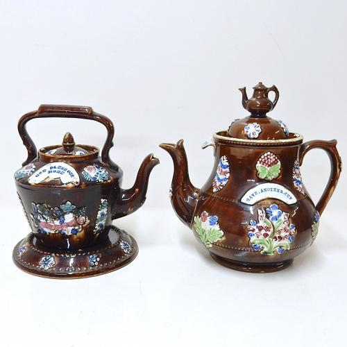 Measham Teapot and Kettle