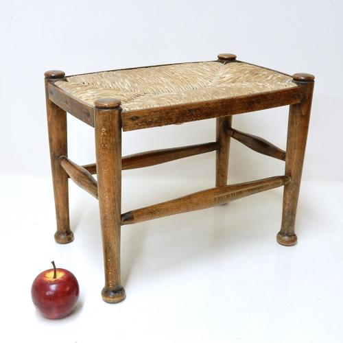 Antique Rushed Stool
